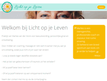 Tablet Preview of lichtopjeleven.nl